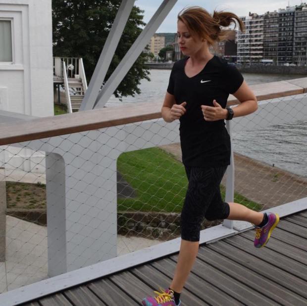 Flore pratique la course à pied depuis août 2015